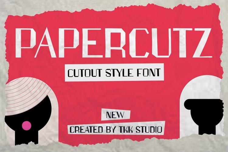 PAPERCUTZ - Vintage Font