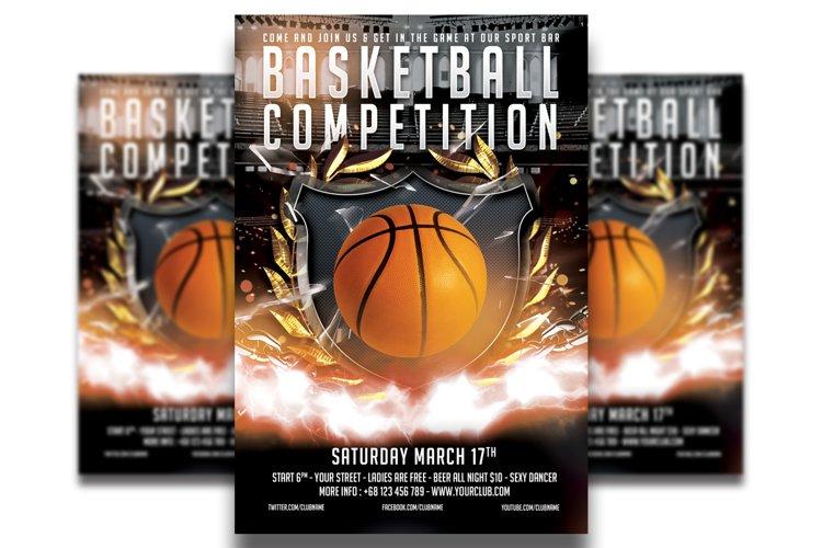 BasketBall Flyer Template #4