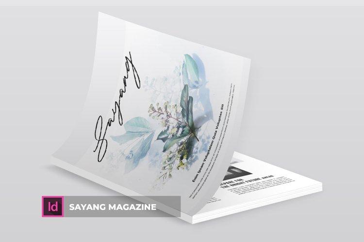Sayang | Magazine example image 1
