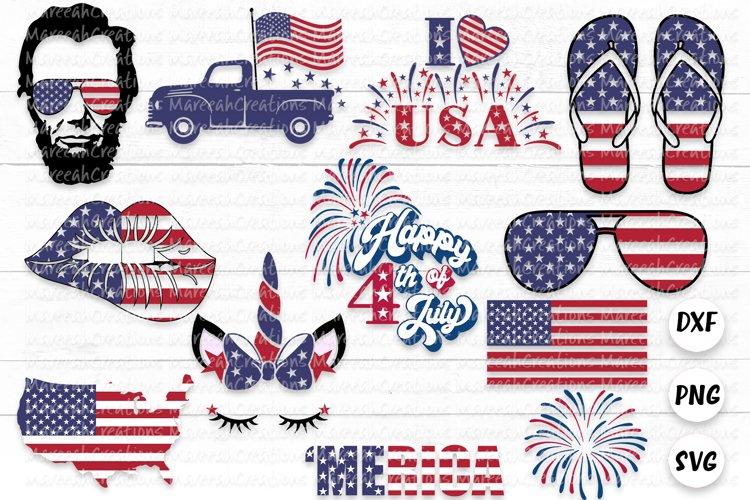 4th of July Layered SVG Bundle | Independence Day SVG Bundle