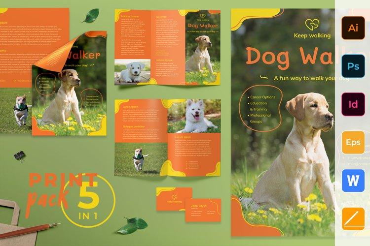 Dog Walker Print Pack example image 1