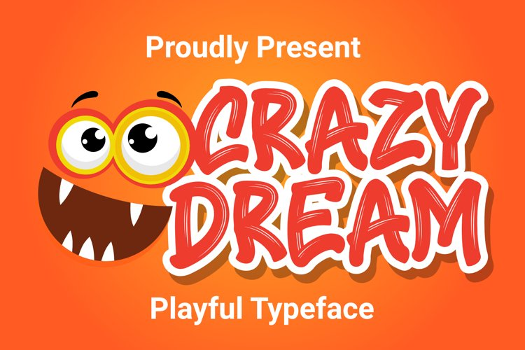Crazy Dream - Funny Font example image 1