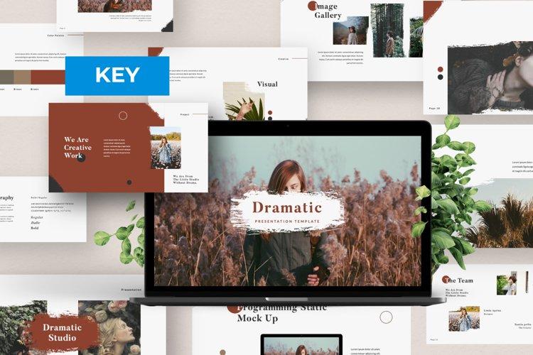 Dramatic Brand Keynote example image 1