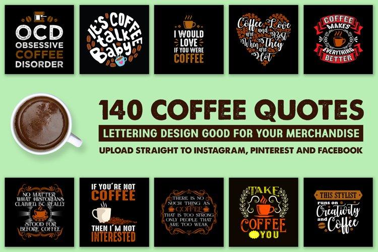 140 Coffee Quotes