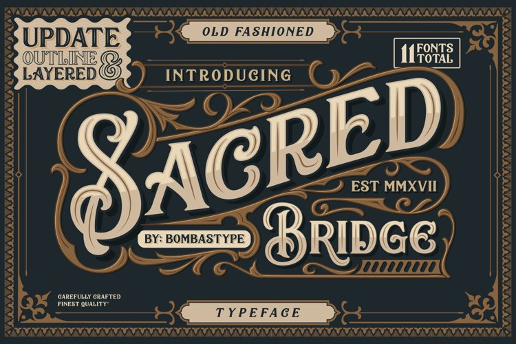 Sacred Bridge  Extras BIG UPDATE ! example image 1