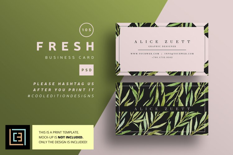 Fresh Business Card - BC105