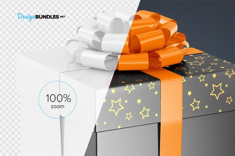 Gift Box Mockups example 4