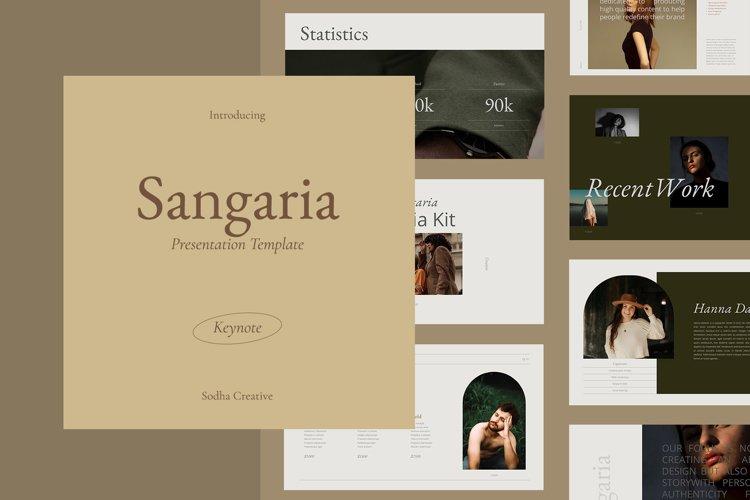 SANGARIA - Keynote Template example image 1