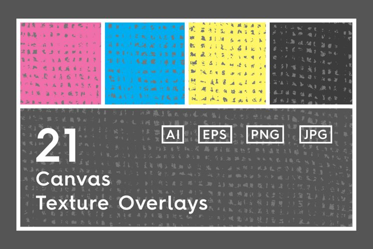 21 Canvas Texture Overlays example image 1