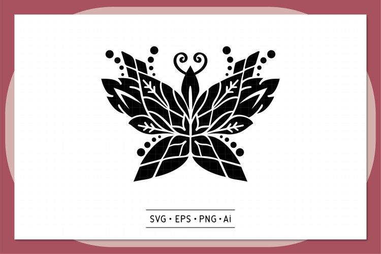 Hand drawn Mandala SVG - 0002 example image 1