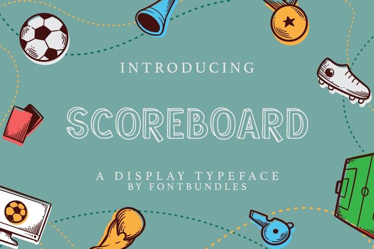 Web Font Scoreboard example image 1