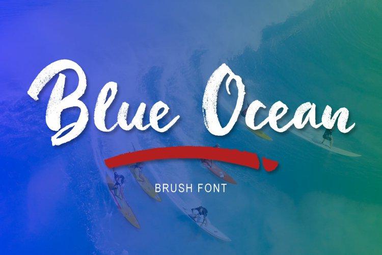 Blue Ocean Brush example image 1