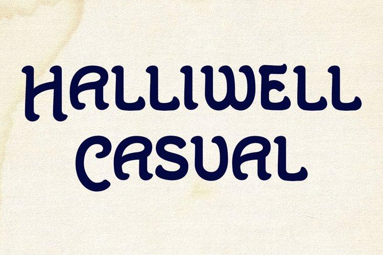 Halliwell Casual