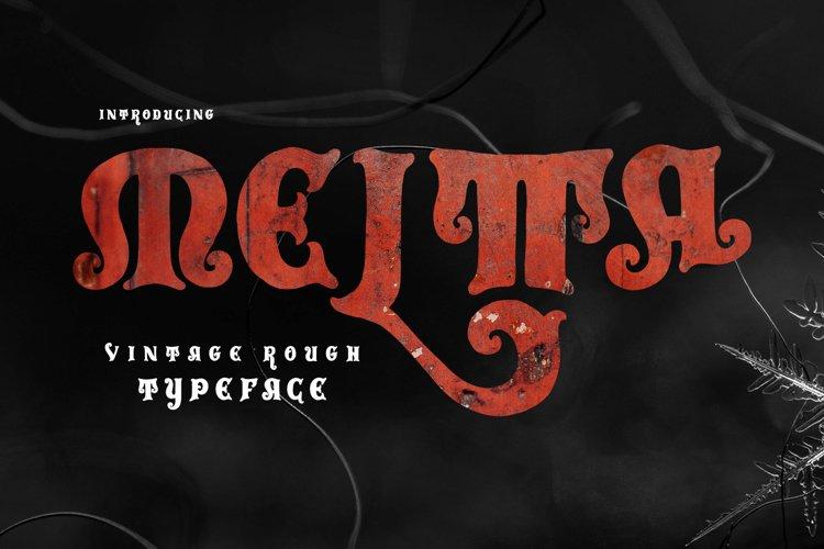 Meltta Typeface example image 1