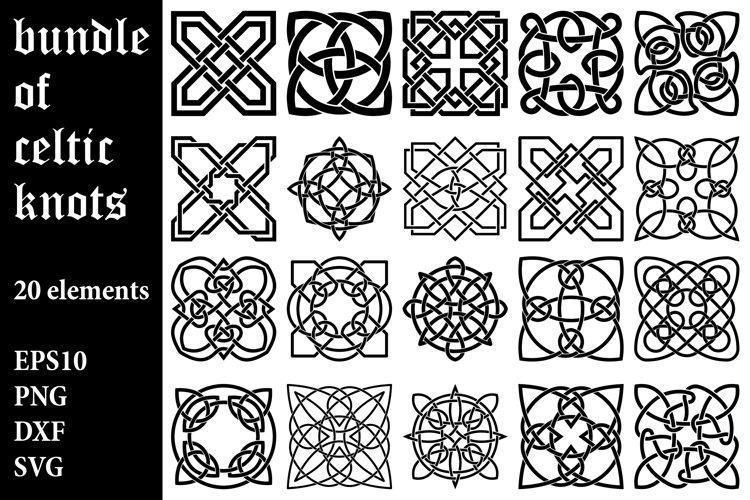 Bundle of Celtic Knot Designs