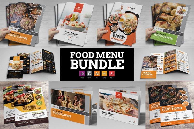 Food Menu Restaurant Brochure Bundle example image 1