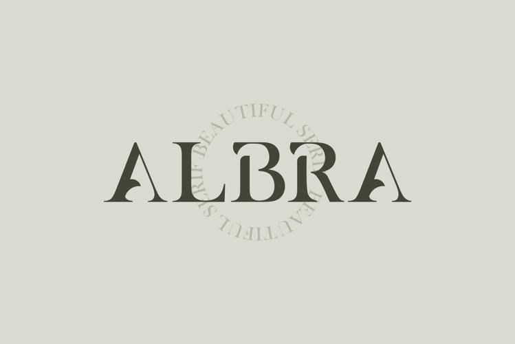 ALBRA - A Beautiful Serif