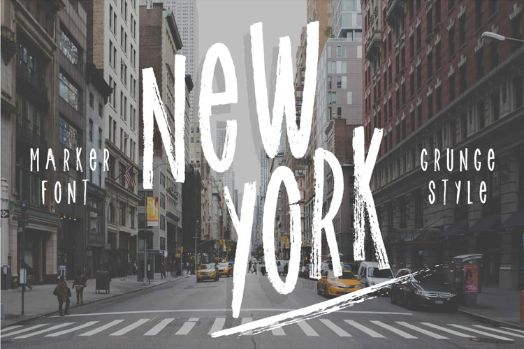 New york font!