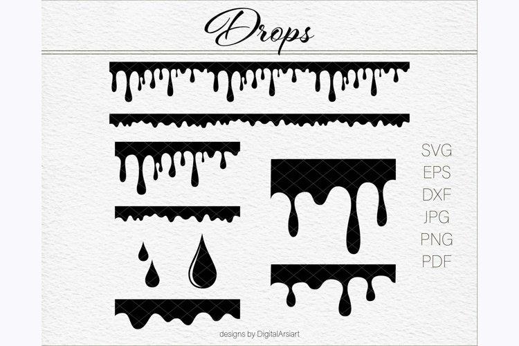 Drop Svg Dripping SVG files Water drip svg Blood svg