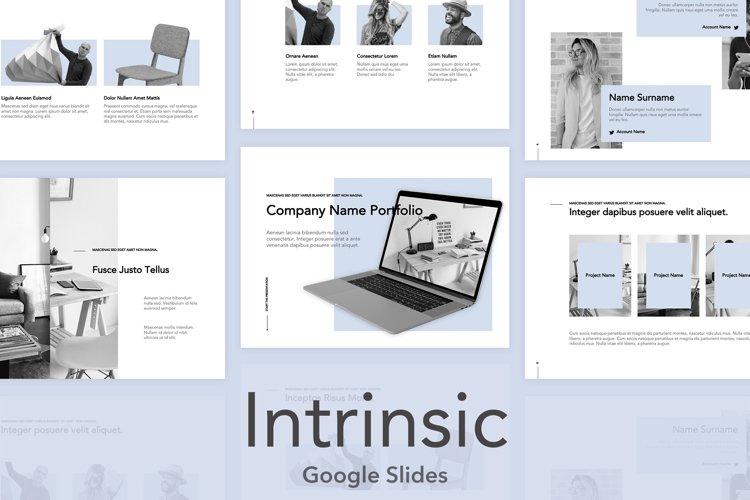 Intrinsic Google Slides Template