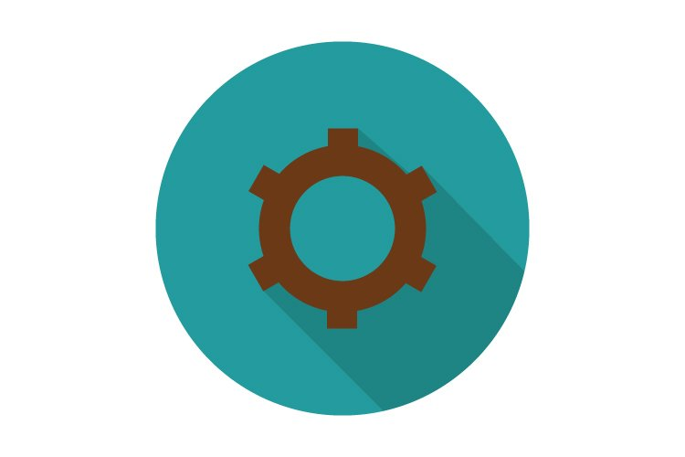 Gear icon example image 1
