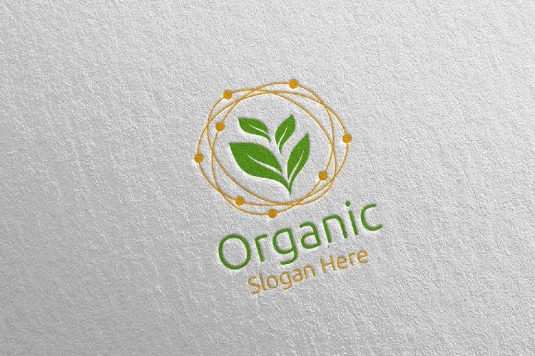 Organic Botanical Gardener Logo 1 example image 1