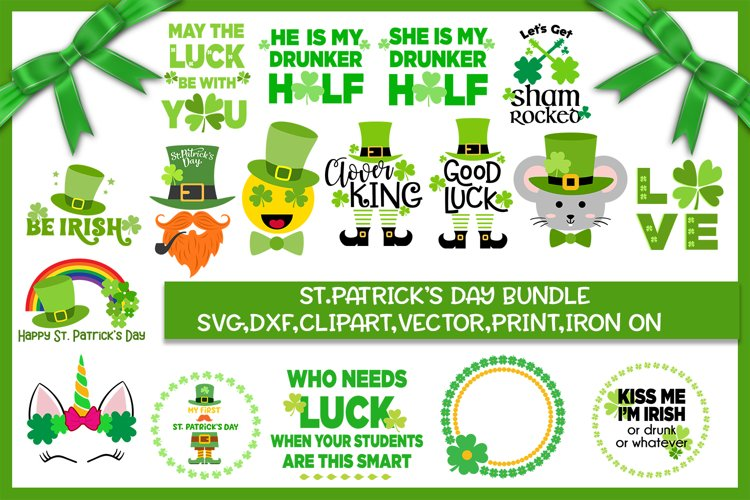St. Patricks Day Bundle - Svg cut files