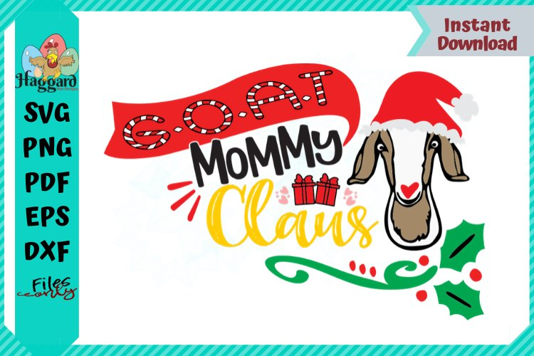 G.O.A.T Mommy Claus example image 1