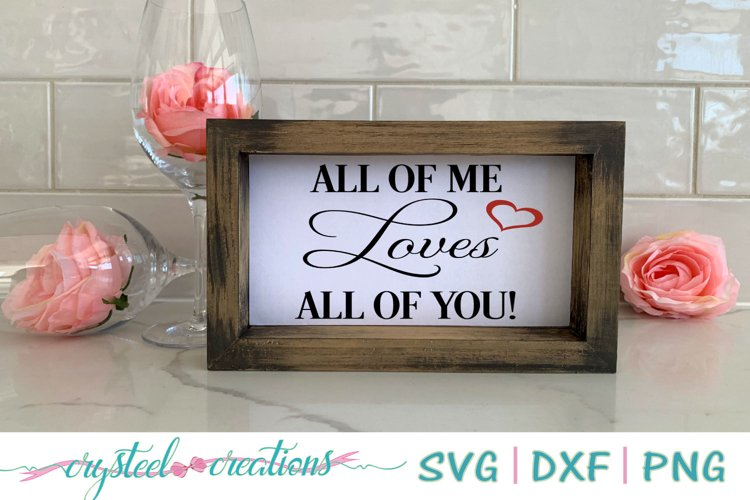 All of me Loves all of you example image 1