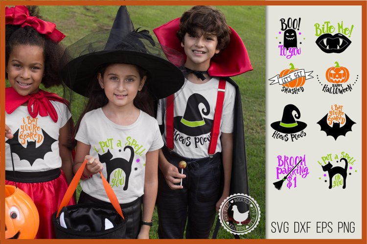 Halloween bundle, SVG files, cutting files