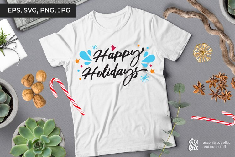 Happy Holidays | Christmas SVG