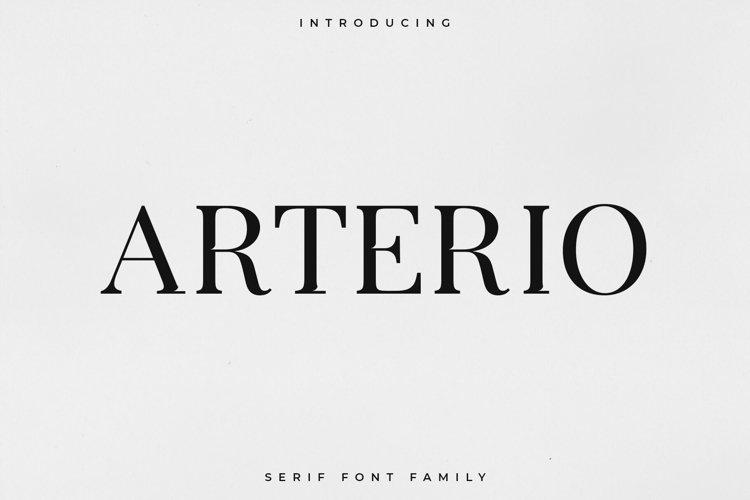Arterio Font Family - Serif example image 1
