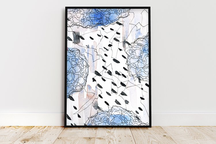Wall Art Print,many color patterns example image 1