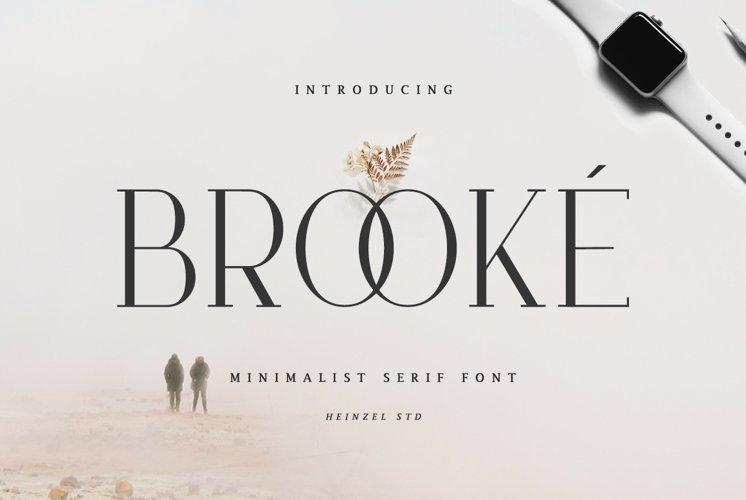 Brooké Serif example image 1