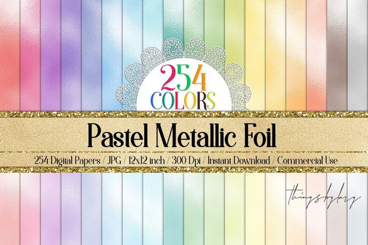 254 Pastel Foil Metallic Magical Fairy Princess Papers