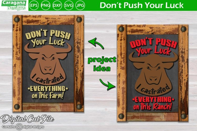 Don't Push Your Luck I Castrated Everything on this Farm example image 1