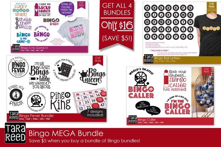 Bingo MEGA Bundle - Bingo SVG and Cut Files for Crafters