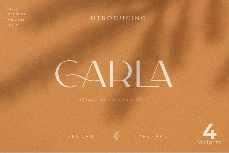 Carla Sans - Elegant Typeface example image 1