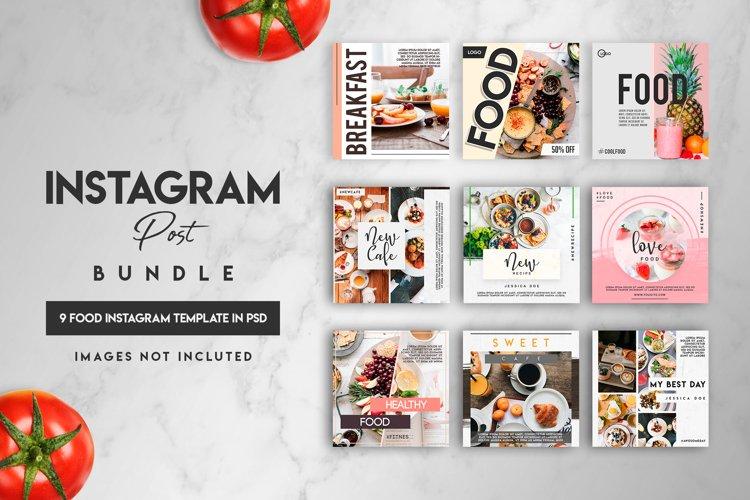 Social media Instagram posts bundle example image 1