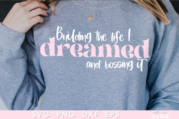 Bossing Business SVG | Entrepreneur Small Business Sweater