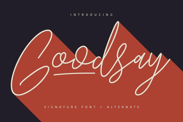 Goodsay Signature example image 1