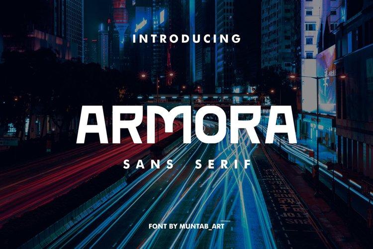 Armora | Modern Font example image 1