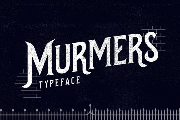 Murmers Typeface example image 1
