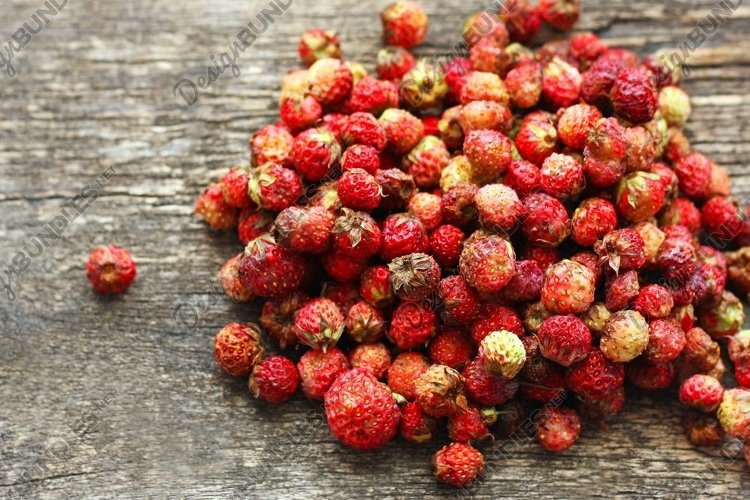Field strawberries.
