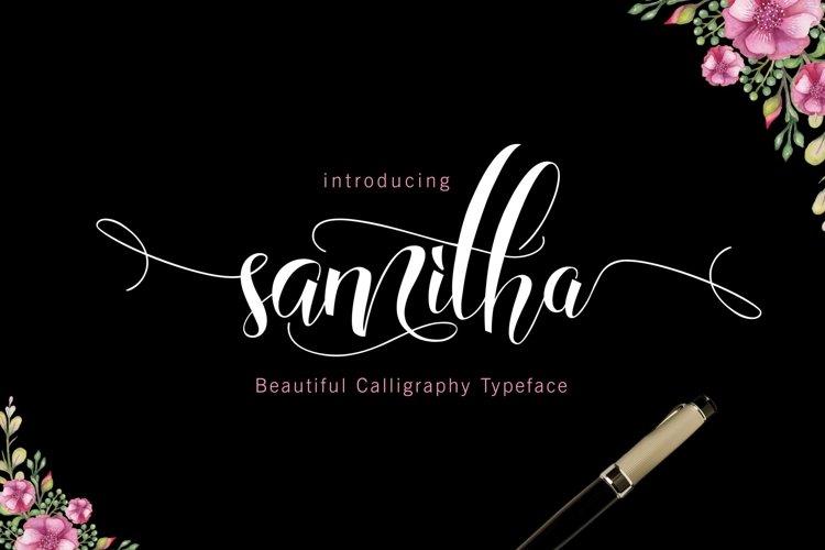 SAMITHA Script example image 1