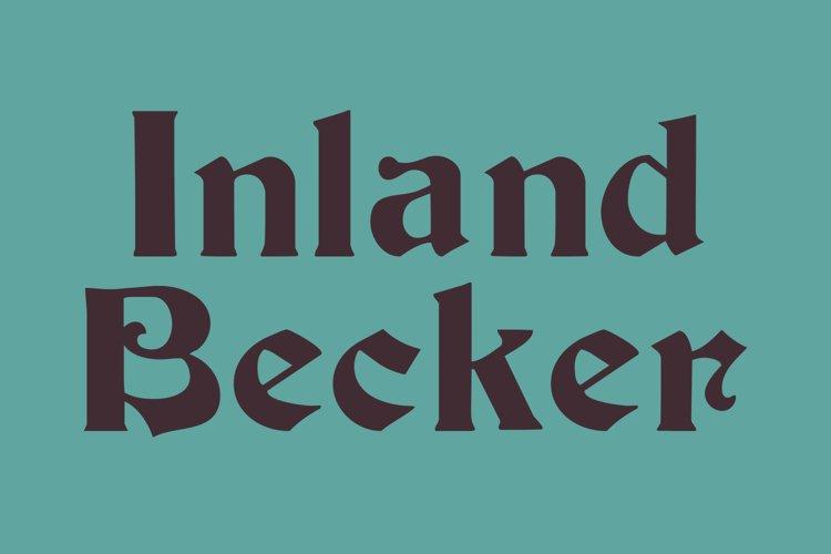 Inland Becker Medium example image 1