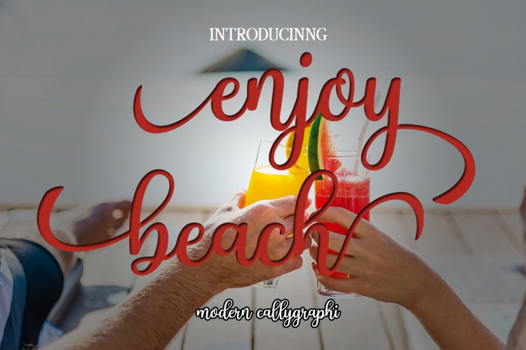 Enjoy beach example image 1
