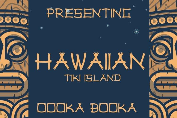 Web Font Hawaiian Tiki Island Font example image 1