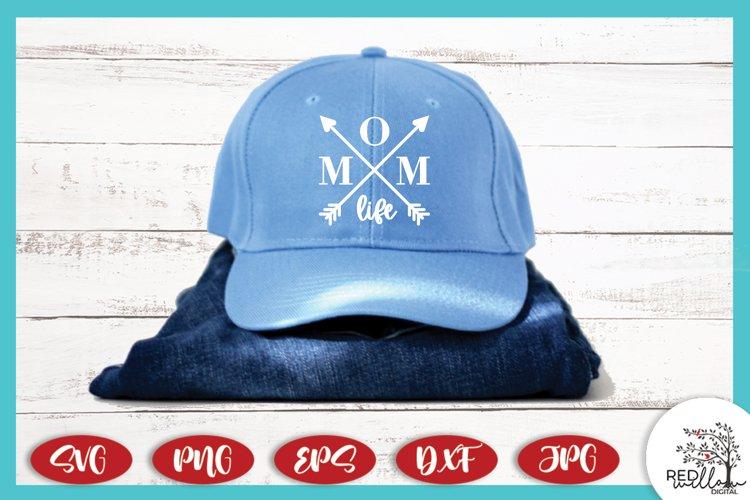 Mom Life Crossed Arrows SVG