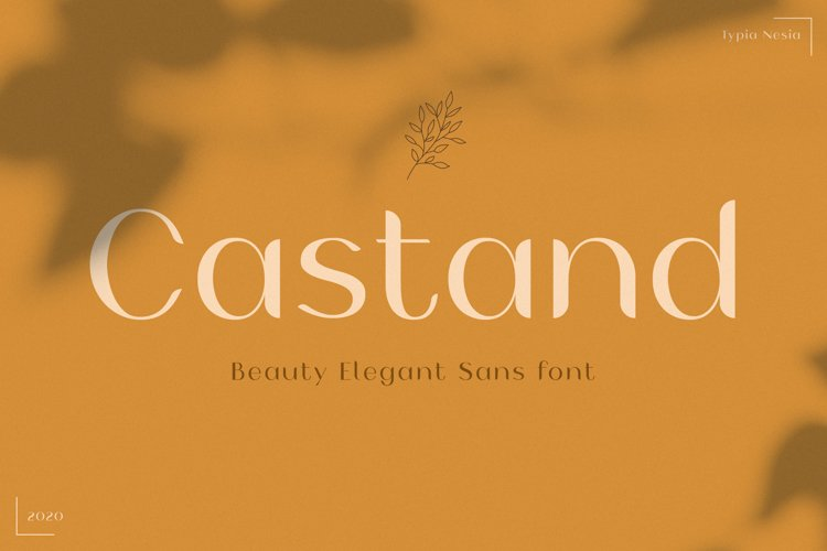 Castand - Beautiful Sans example image 1